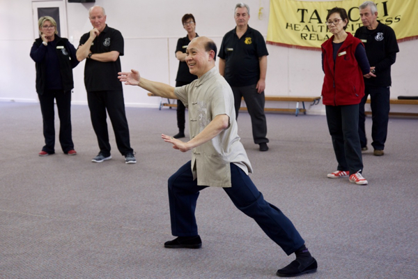 Qigong Workshop with Senior Master Chin Min